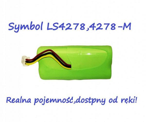 BATERIA do SKANER Symbol LS4278 LS4278-M real mAh