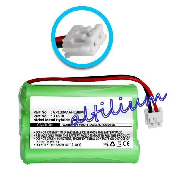 Bateria do Audioline Baby Care V100 wtyk JST EHR