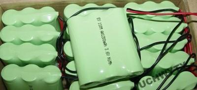Akumulator 1200 mAh NiMH 3,6V Z KABELKAMI PAKIET
