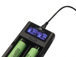 ŁADOWARKA LCD Li-ion 18650 14500 26650 X AM1