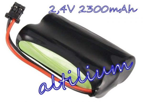 Bateria aku do Panasonic HHR-P506 2,4V 2300mAh