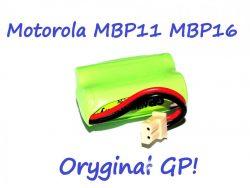 BATERIA NIANIA MOTOROLA MBP11 MBP16 oryginał GP 2,4V 400mAh