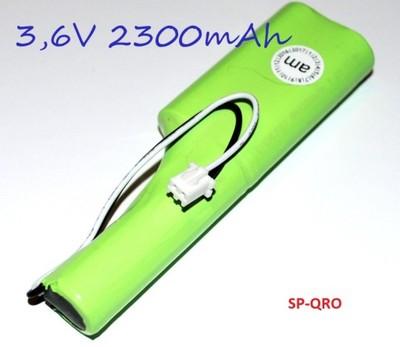 Lampa warsztatowa akumulator 3,6V 2300mAh FV
