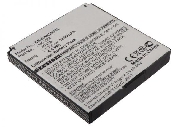 AKUMULATOR do EMPORIA 3,7V 1,2Ah Li-Ion