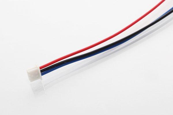 Wtyczka Molex 51021-0300 z kablami AWG26 100mm BWR