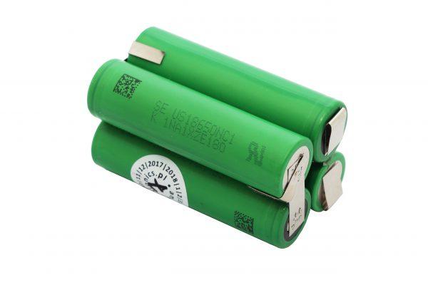 Pakiet 4 ogniw SONY US18650 4S1P 14,4V 2,1Ah