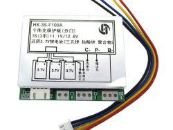 MODUŁ OCHRONY OGNIW BMS PCB Li-Ion-3S-11,1V-100A