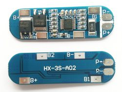 MODUŁ OCHRONY OGNIW BMS PCM PCB Li-ion-3S-12V-10A