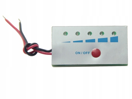 Wskaźnik naładowania baterii li-ion 18650 4S 16,8V