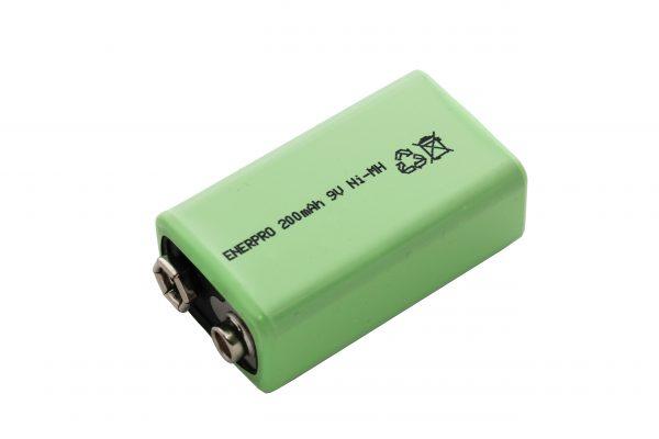 Akumulator ENERPRO 6F22 200mAh 9,6V Ni-MH