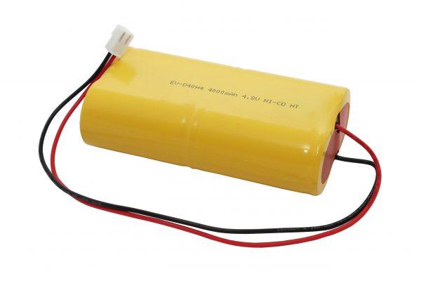AKUMULATOR DO LAMP AWARYJNYCH EV-D40H4 4Ah 4,8V NI-CD WTYCZKA JST VHR-2N