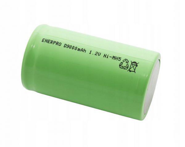 OGNIWO AKUMULATOR ENERPRO D 9000mAh 1,2V Ni-Mh